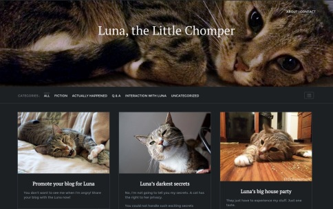 LittleChomper website screenshot